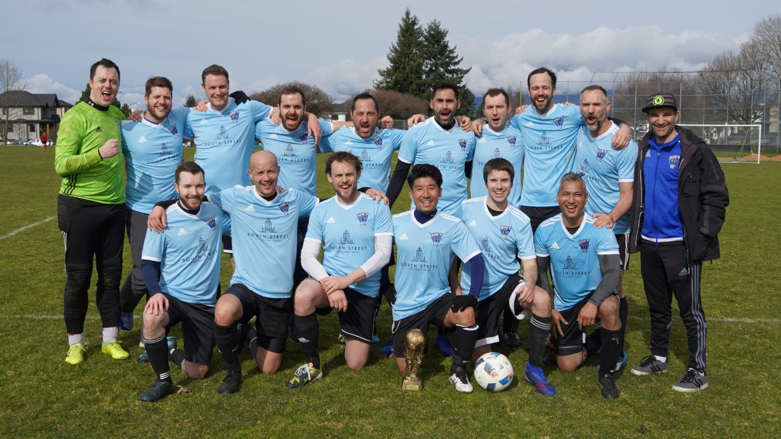 The Rino Bulldogs over 35s